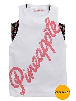 pineapple-older-girls-double-layer-vest