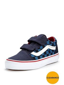 vans-old-skool-v-checkerboard-children
