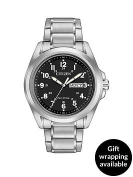 citizen-citizen-eco-drive-sport-black-dial-day-date-stainless-steel-bracelet-watch-mens-watch