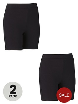 top-class-girls-cycling-shorts-2-pack