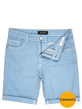 river-island-boys-light-blue-denim-turn-up-shorts