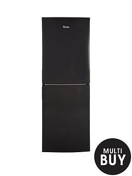 swan-sr9081b-55cm-wide-frost-free-fridge-freezer-black
