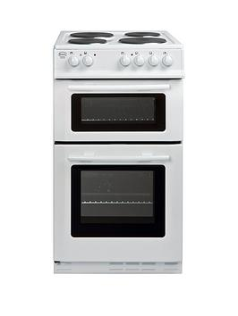 swan-sx2011w-50cm-wide-freestanding-twin-cavity-electric-cooker-white