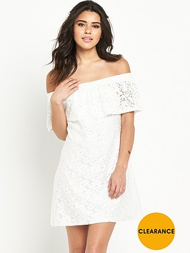 river-island-lace-bardot-swing-dress