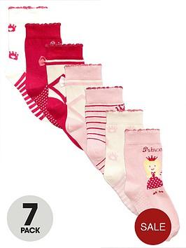 mini-v-by-very-girls-princess-ballet-socks-7-pack