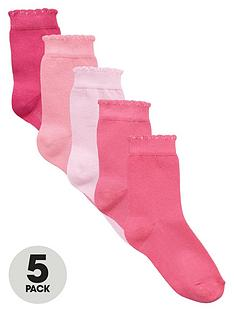 mini-v-by-very-girls-favourites-pink-socks-5-pack