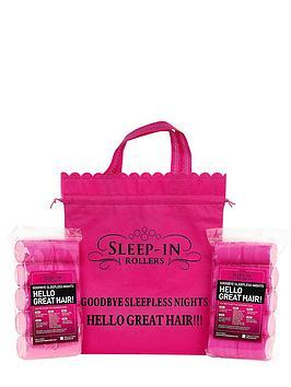 sleep-in-rollers-pink-set