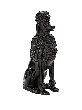 black-poodle-ornament