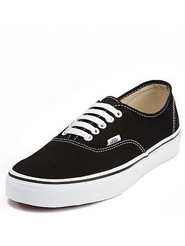 vans-authentic-plimsolls-blackwhite