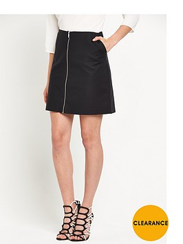 oasis-zip-front-a-line-skirt