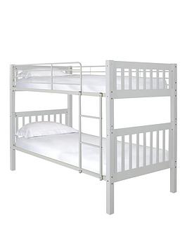 ashley-solid-woodmetal-bunk-bed-with-optional-mattress