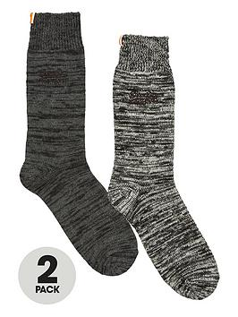 superdry-2pk-boot-sock