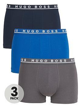 boss-3-pack-of-bodywear-core-trunks-bluegrey