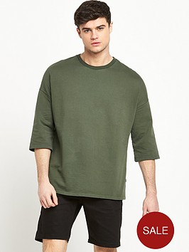 only-sons-only-and-sons-drop-shoulder-34-sleeve-sweat-top