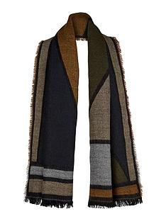 v-by-very-colour-block-blanket-scarf