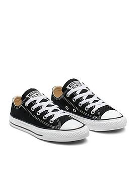 82d680587 Converse Chuck Taylor All Star Ox Core Childrens Trainers ...