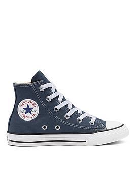 converse-all-star-hi-junior-plimsolls-navy