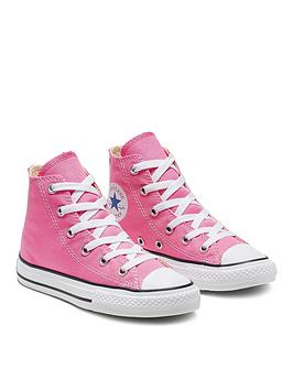 converse-chuck-taylor-all-star-hi-core-childrens-trainer-pink