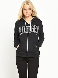 hilfiger-denim-graphic-zip-hoodie