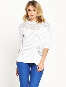river-island-pointelle-jumper