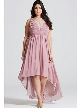 little-mistress-curve-dusty-pink-dipped-hem-maxi-dress