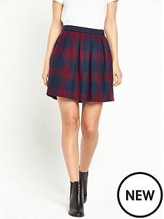 hilfiger-denim-short-check-skirt