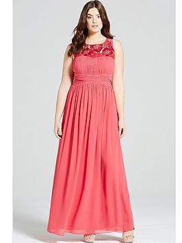 little-mistress-curve-embroidered-empire-maxi-dress