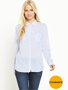 hilfiger-denim-hilfiger-denim-original-lightweight-ls-shirt