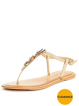 v-by-very-sea-embellished-jewel-toe-post-sandalnbsp