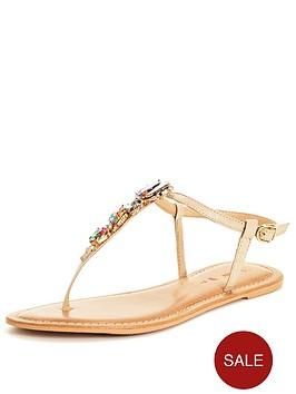 v-by-very-sea-embellished-jewel-toe-post-sandalnbsp