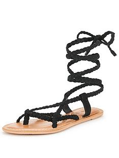 v-by-very-evelyn-plaited-tie-up-the-leg-flat-suede-sandal