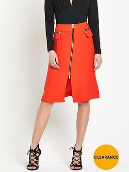 river-island-zip-through-midi-a-line-skirt