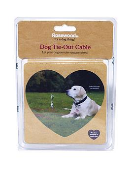 rosewood-dog-tie-out-cable-30-inch