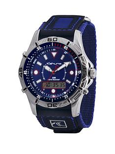 kahuna-kahuna-blue-dial-digital-blue-strap-mens-watch