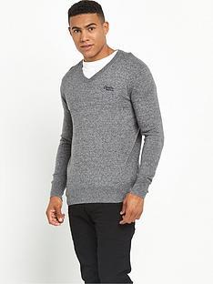 superdry-orange-label-v-neck-jumper