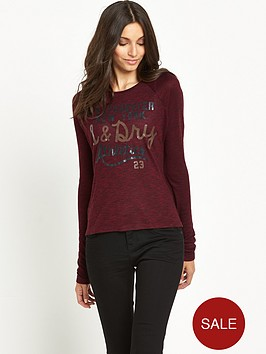 superdry-slubby-knit-graphic-top