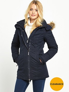 superdry-microfibre-tall-parka-navy