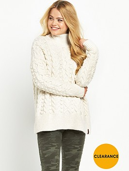 superdry-kiki-cable-sweater-cream