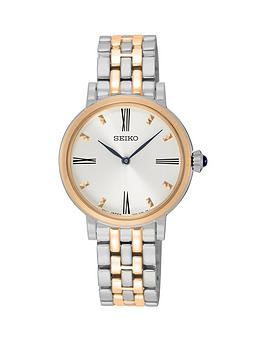 seiko-seiko-white-dial-two-tone-bracelet-ladies-watch