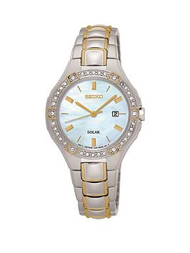 seiko-seiko-solar-white-dial-swarovski-crystal-set-bezzel-two-tone-stainless-steel-ladies-watch
