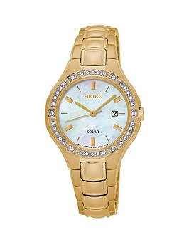 seiko-seiko-solar-white-dial-swarovski-crystal-set-bezzel-gold-tone-stainless-steel-ladies-watch