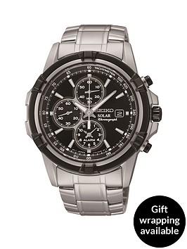 seiko-seiko-solar-black-dial-chronograph-bracelet-mens-watch