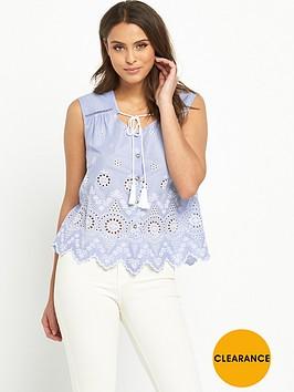 v-by-very-tassel-embroidered-sleeveless-blousenbsp