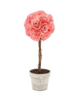 23-inch-artificial-rose-tree-ndash-pink