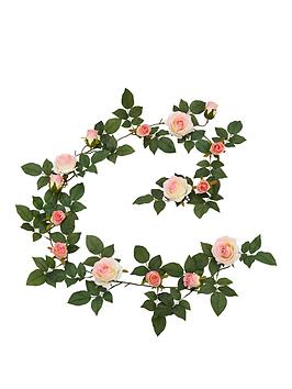 artificial-daisy-garland-in-pink
