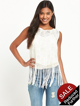 v-by-very-fringe-cut-work-open-tie-back-blouse