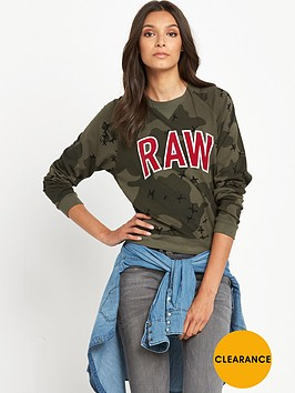 g-star-raw-valera-raw-graphic-camo-sweatshirt-dark-smoke-green