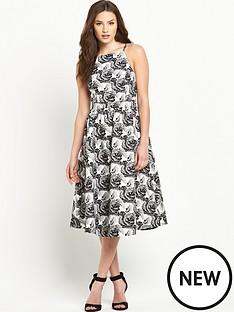v-by-very-jacquard-midi-prom-dress