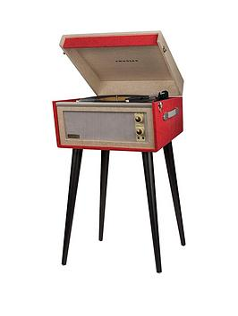 crosley-bermudanbspdansette-turntable--red