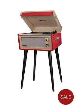 crosley-bermudanbspdansette-turntable--red